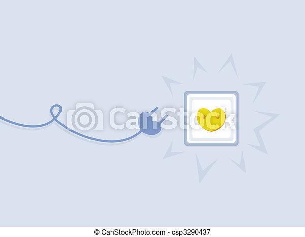 elektryczność, miłość, wylot - csp3290437