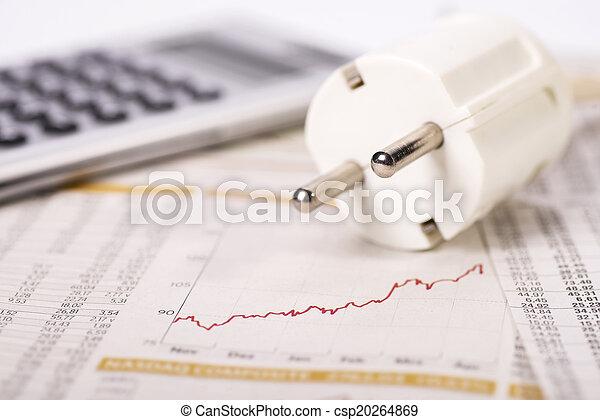 elektryczność, wydatki, powstanie - csp20264869