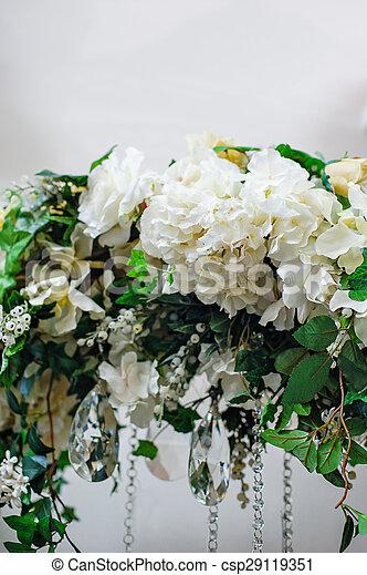 Element Wedding Arch White Flowers