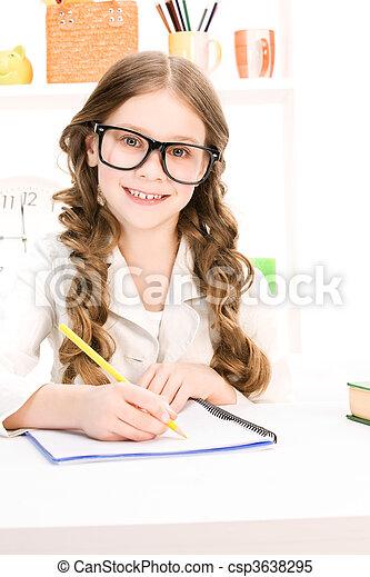 elementare scolastico studente - csp3638295
