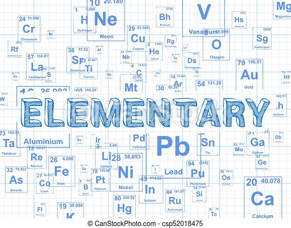 Elementary Element Graph Paper Background   Csp52018475  Graph Paper Word
