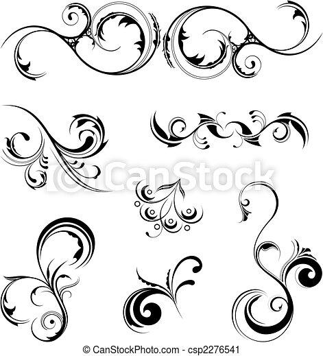 elemente, design - csp2276541