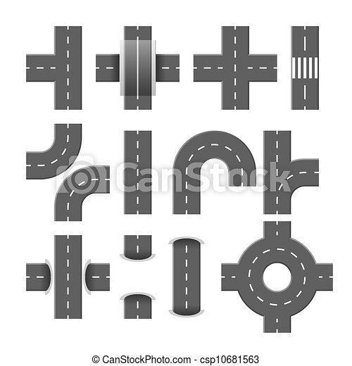 elementi, strada - csp10681563