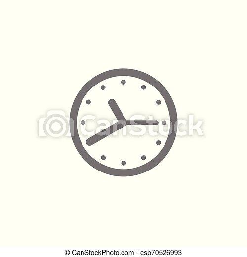 Vector de icono del tiempo. Elemento para tu diseño - csp70526993