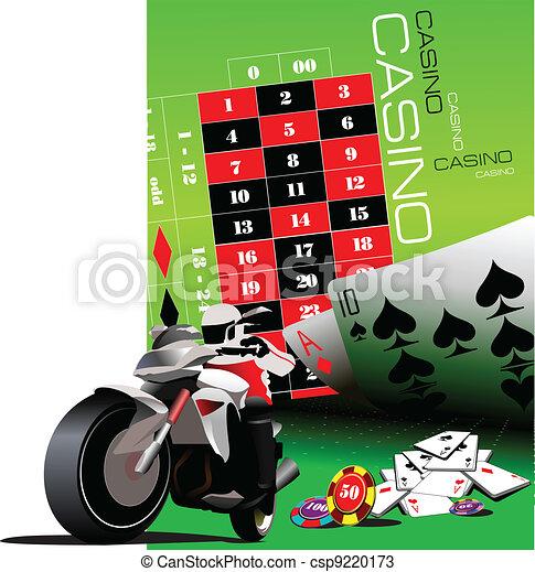Elementos de casino con motor deportivo - csp9220173