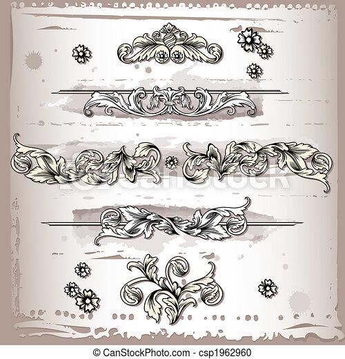 Elementos decorativos - csp1962960