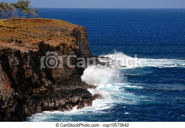 Erosión de los elementos - csp10573642