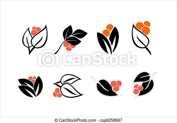 elementos florais - csp6258697