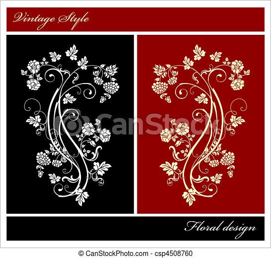 elementos florais - csp4508760
