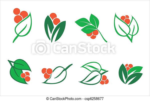 elementos florais - csp6258677