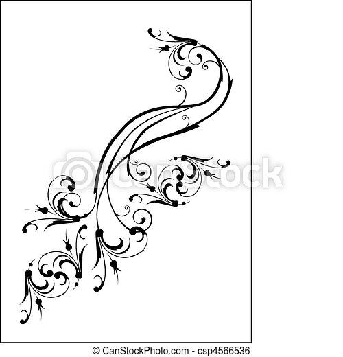 elementos florais - csp4566536