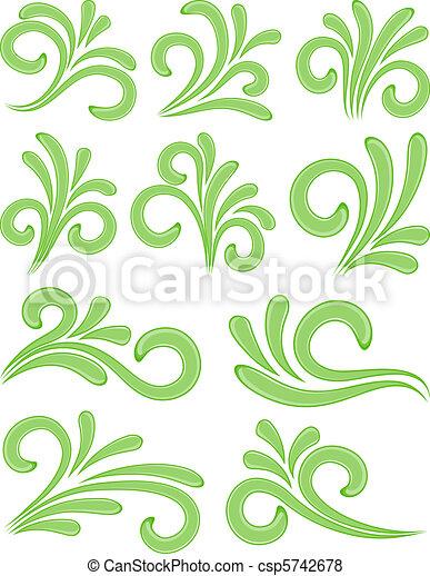 elements., natura, disegno - csp5742678