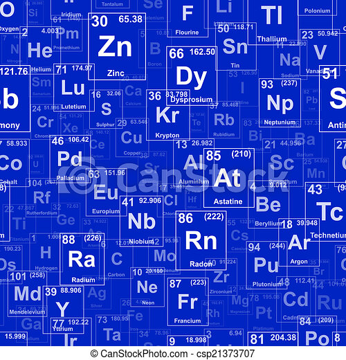 Elements Repeating Background - csp21373707