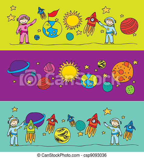 elements solar systems drawing - csp9093036