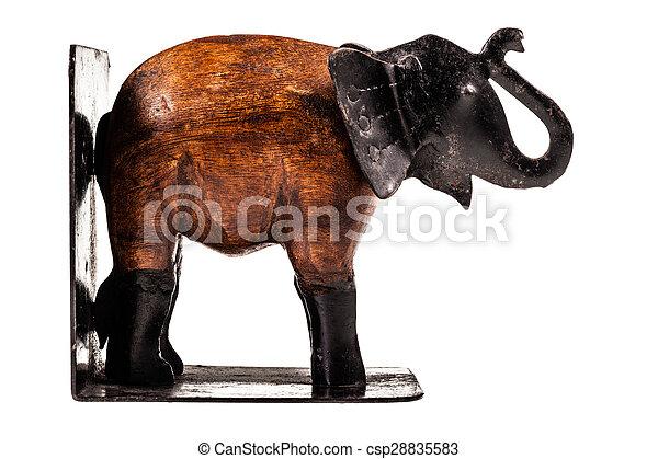 elephant bookend - csp28835583