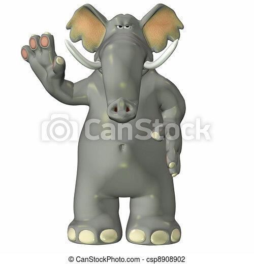 Elephant - csp8908902