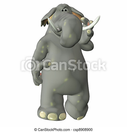 Elephant - csp8908900