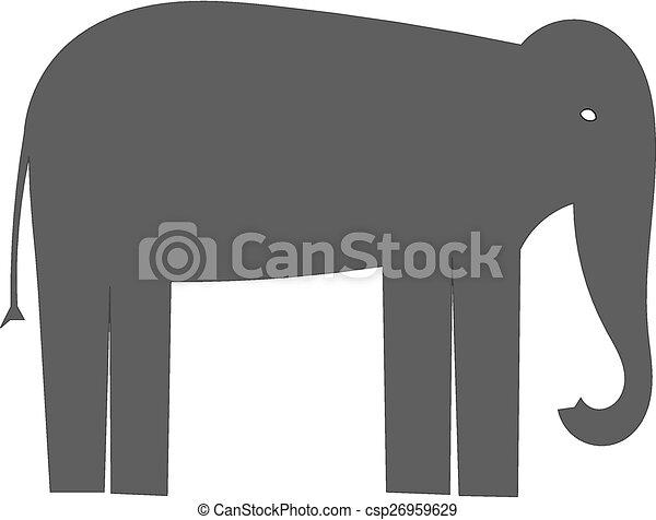 Elephant - csp26959629