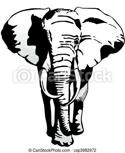 elephant vector illustration search clipart drawings and eps rh canstockphoto com elephant vector clipart elephant vectoriel