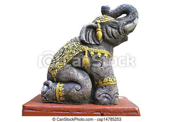 Elephant Statue - csp14785253