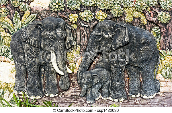 Elephants - csp1422030