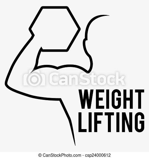 Levantamiento de peso - csp24000612