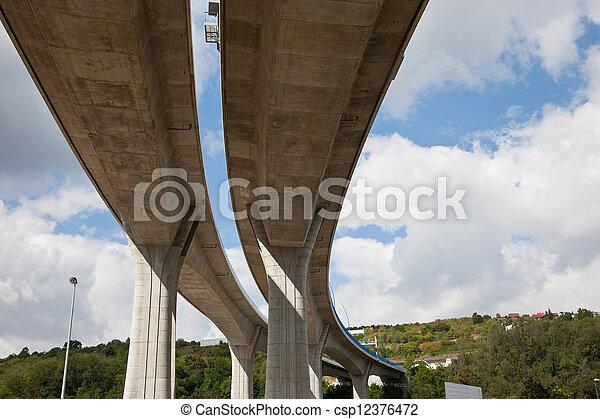 Elevated highway - csp12376472
