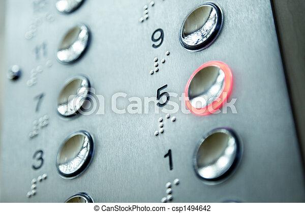 elevator keypad - csp1494642