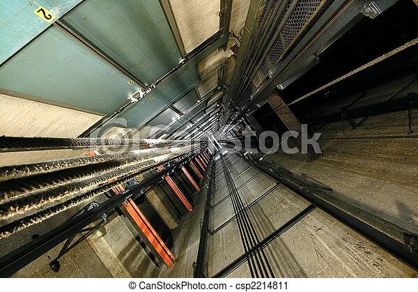 Elevator Shaft - csp2214811