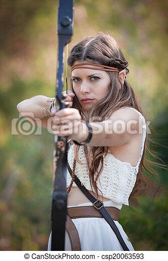 Nude female archer Nude Photos 36