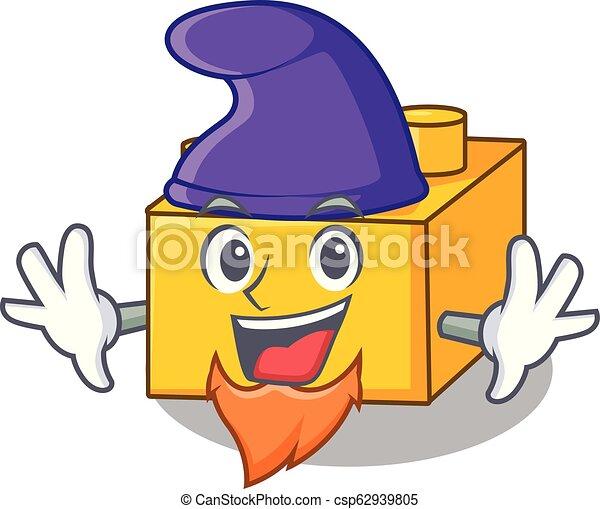 Elf plastic building blocks cartoon on toy - csp62939805