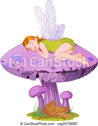 elfe, dormir - csp20708087