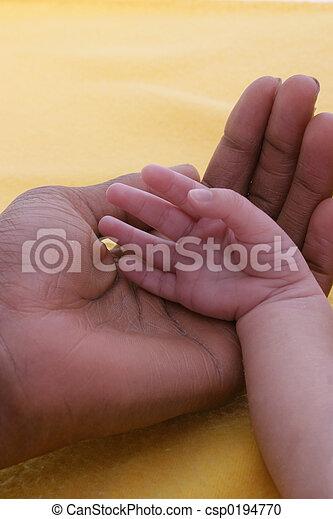 Ebenholz Finger