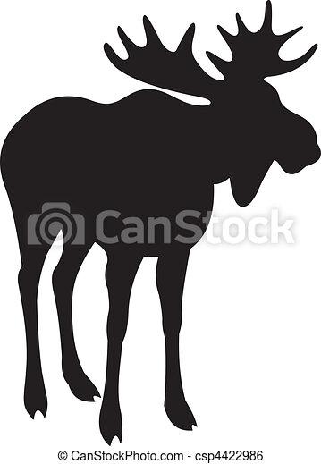 Elk vector - csp4422986