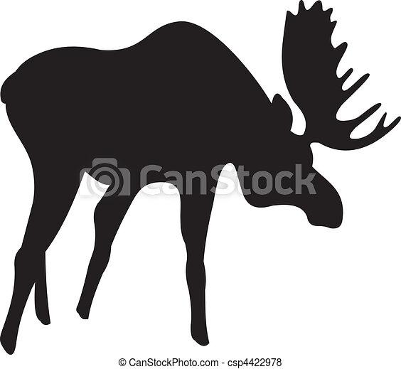 Elk vector - csp4422978