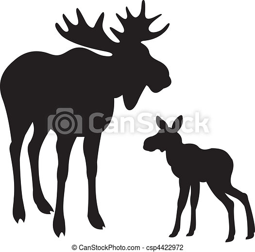 Elk vector  - csp4422972