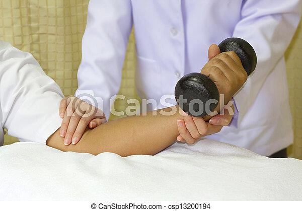 elleboog, joint, opleiding, muscle, rehab - csp13200194