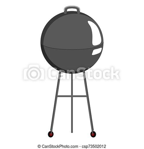 elszigetelt, grillsütő grillsütő - csp73502012