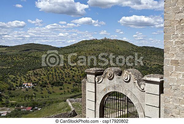 Elvas - View of Forte da Graca - csp17920802