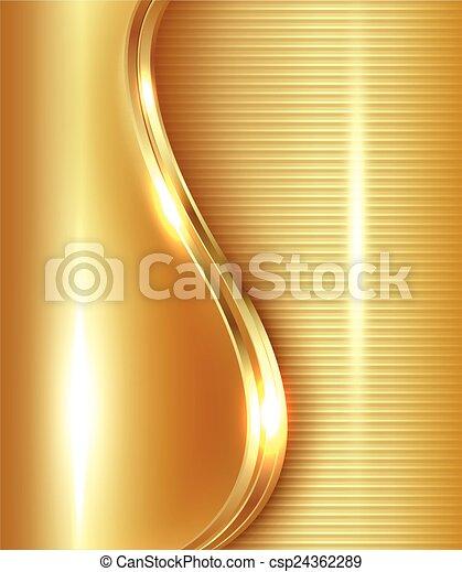 elvont, arany, háttér - csp24362289