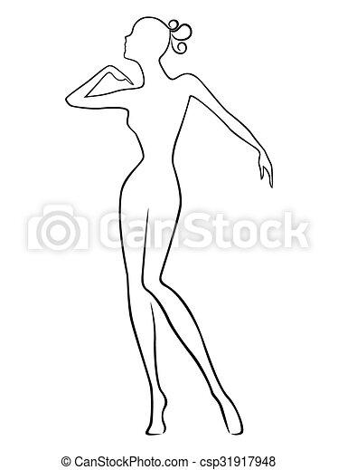 test karcsú clipart)