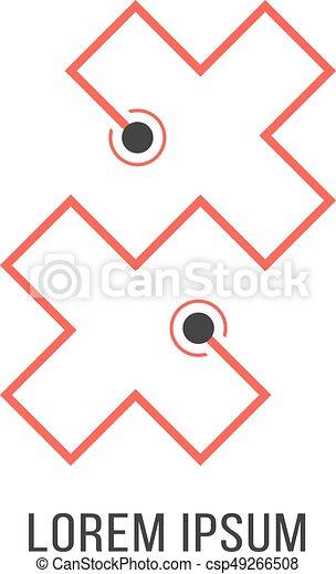 Randevú logó vektor