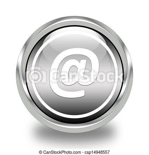 email address glossy icon - csp14948557