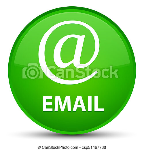 Email (address icon) special green round button - csp51467788