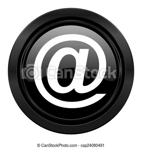 email black icon - csp24080491