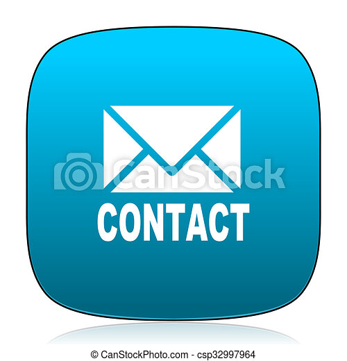 email blue icon - csp32997964