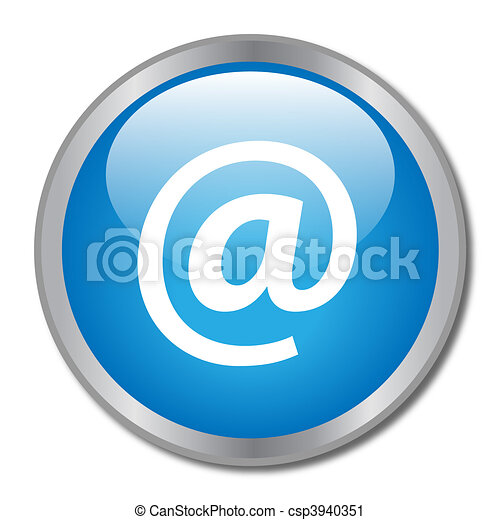 Email Button - csp3940351