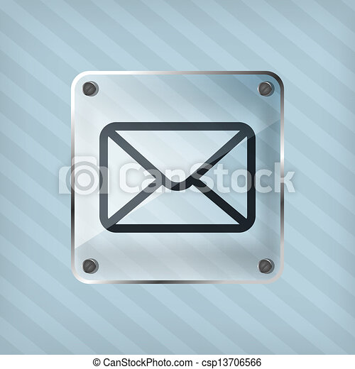 email button icon - csp13706566