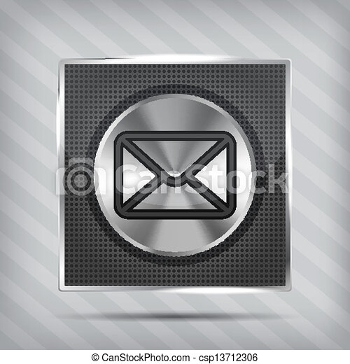 email button icon - csp13712306