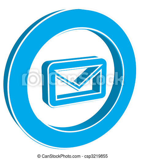 Email button. - csp3219855